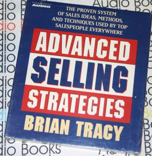 advanced selling strategies brian tracy audio book cd