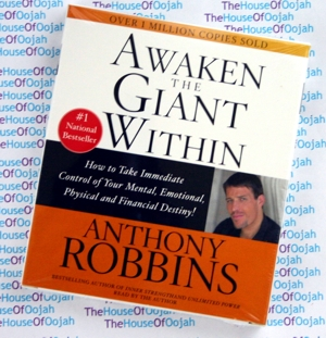 awaken the giant anthony robbins audio book