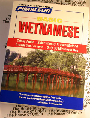 pimsleur vietnamese audio cd