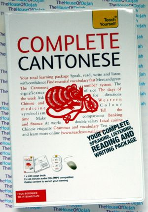 teach yourself cantonese audio cd