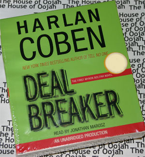 darkest fear harlan coben audio book cd