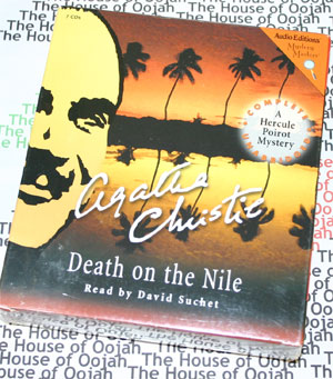 death on the nile audio book agatha christie