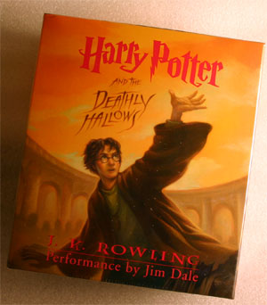 Harry Potter And The Deathly Hallows Audio Book New Cd Read By Jim