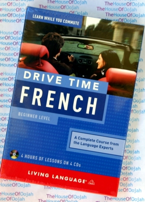 Learn French while you drive - 4 Audio CDs + Reference Guide