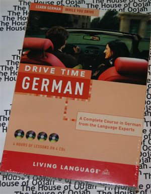 drive time german audio cd