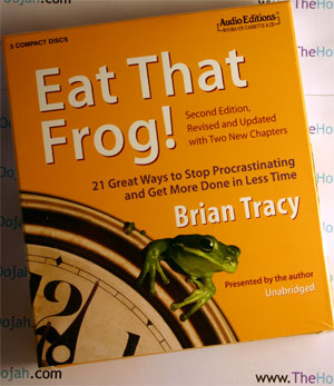 eat that frog brian tracy audio book cd