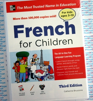 audiobook kids learn french