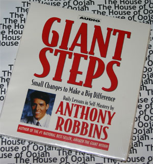 Giant Steps Anthony Robbins audio book cd