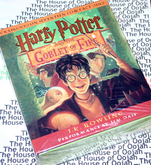 harry potter and the goblet of fire audio book cd