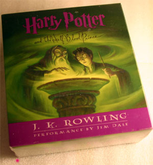 harry potter and the half blood prince audiobook cd