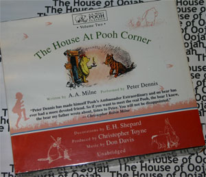 house at pooh corner audio book cd