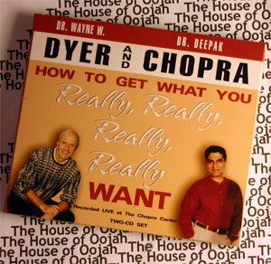 how to get what you really really really really want deepak chopra dr wayne dyer audio book cd