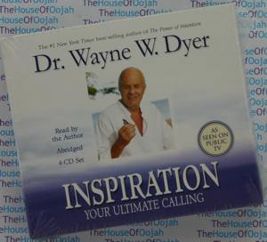 inspiration your ultimate calling dr wayne dyer audio book cd