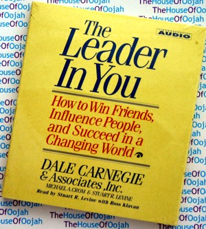 the leader in you dale carnegie audio book cd