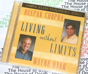living without limits deepak chopra dr wayne dyer audio book cd