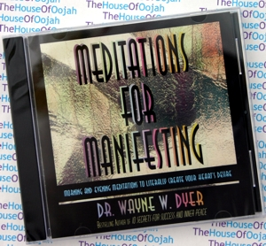 meditations for manifesting dr wayne dyer audio book cd