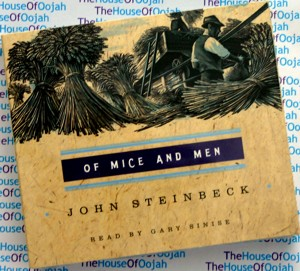of mice and men john steinbeck audio cd audiobook