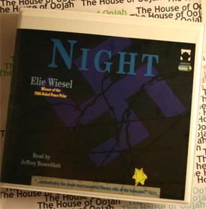 elie wiesel audiobook audio cd