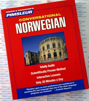 pimsleur conversational norwegian learn to speak
