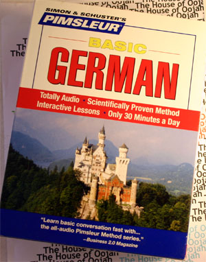pimsleur basic german