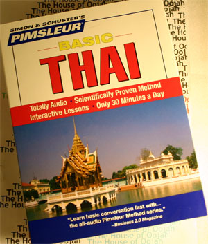 pimsleur thai audiobook