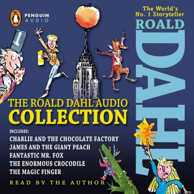 roald dahl collection audio book audiobook CD kids children