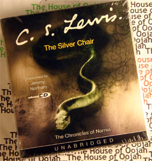 The silver chair chronicles of narnia audio book cd new unabridged