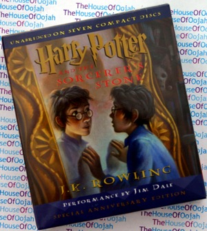 Harry Potter and the Philosopher's Stone audio book cd