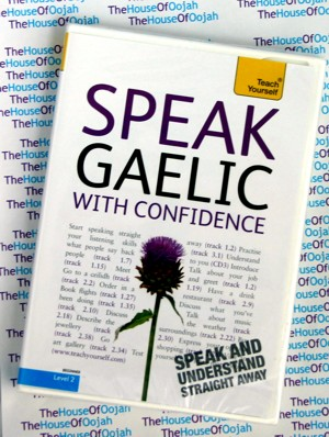 learn to speak gaelic conversation audio cd