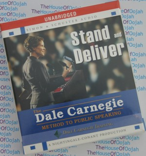 dale carnegie training stand and deliver audio book cd