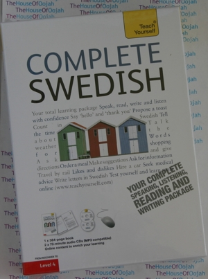 swedish learn to speak audio cd book