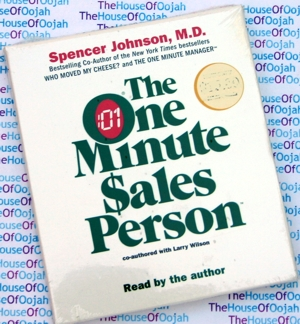 one minute salesperson spencer johnson