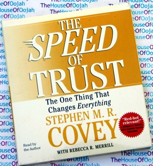 speed of trust stephen M rR Covey