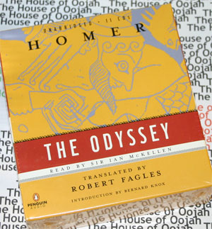the odessy homer audio book