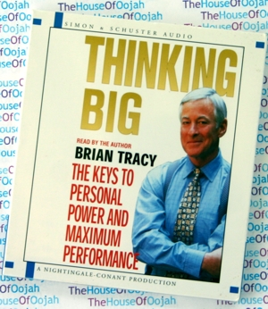 thinking big brian tracy audio book cd