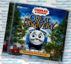 thomas the tank engine audio book cd