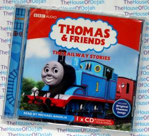 thomas the tank engine audio book cd