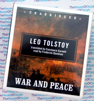 war peace leo tolstoy audio book audiobook audiobooks