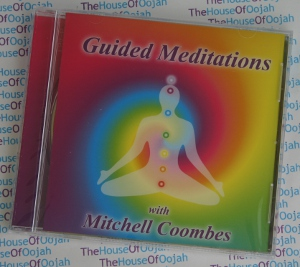 Guided meditations by mitchell coombes meditation audio cd