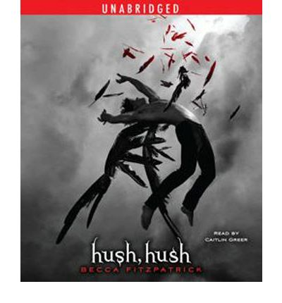 hush hush by becca fitzpatrick audiobook cd hush hush by becca