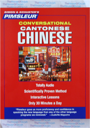 Pimsleur Conversational Cantonese Chinese