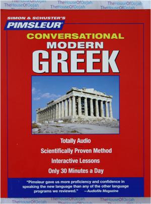 Pimsleur Conversational Modern Greek