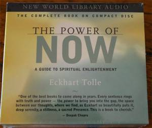 the power of now eckhart tolle audiobook cd