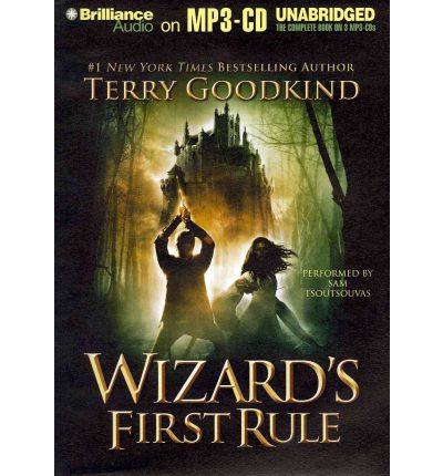 Wizard's First Rule by Terry Goodkind AudioBook Mp3-CD