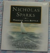 Message in a Bottle - Nicholas Sparks - AudioBook CD