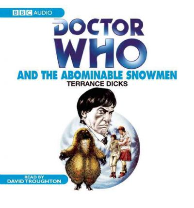 """Doctor Who"" and the Abominable Snowmen by Terrance Dicks Audio Book CD"