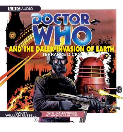 """Doctor Who"" and the Dalek Invasion of Earth by Terrance Dicks Audio Book CD"