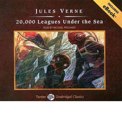20,000 Leagues Under the Sea by Jules Verne AudioBook CD