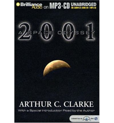 2001 by Arthur Charles Clarke AudioBook Mp3-CD