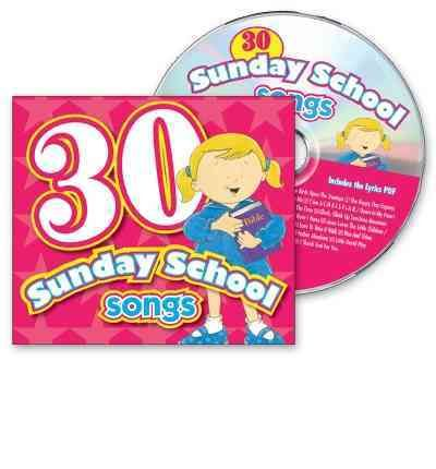 30 Sunday School Songs by Kim Mitzo Thompson Audio Book CD